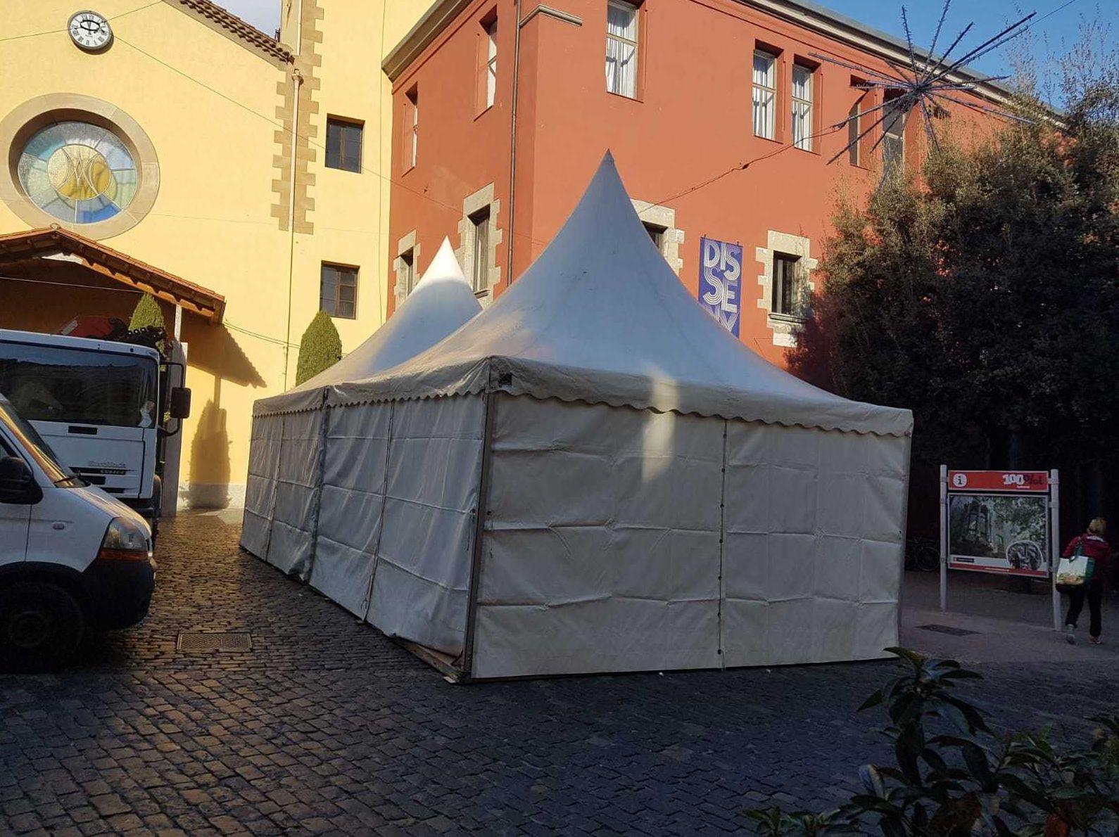 Alquiler y montaje de pagodas en Girona