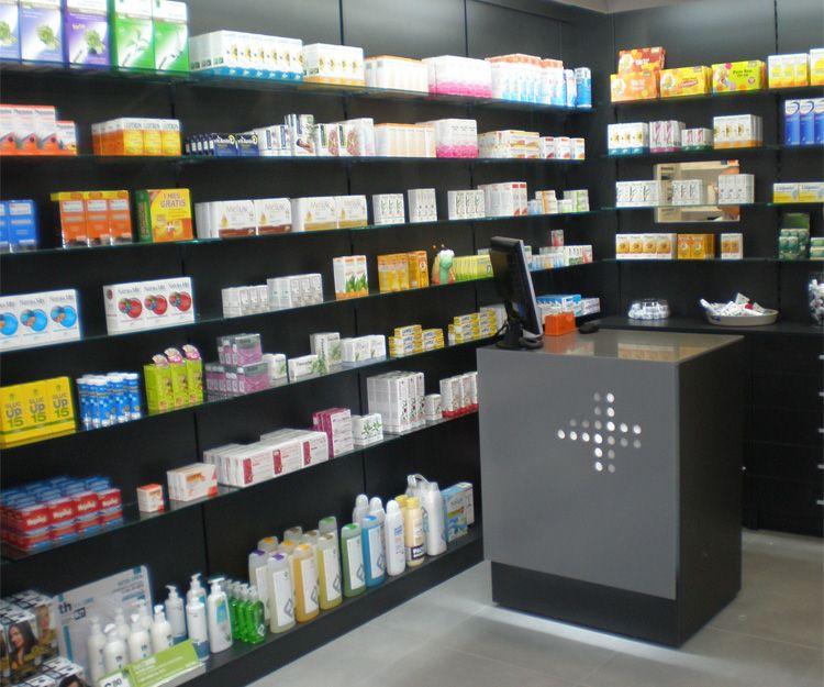 Muebles para farmacias