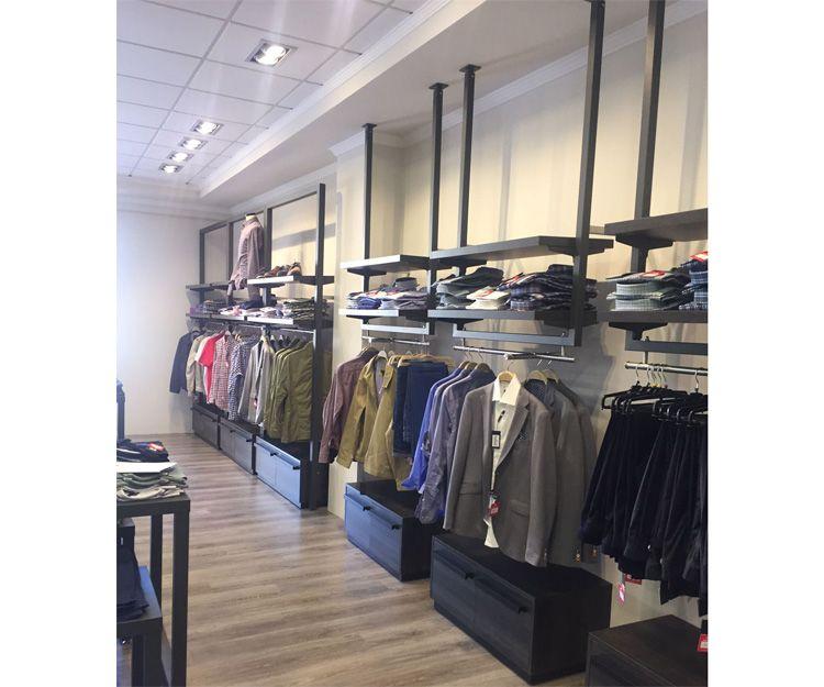 Percheros para tienda de ropa