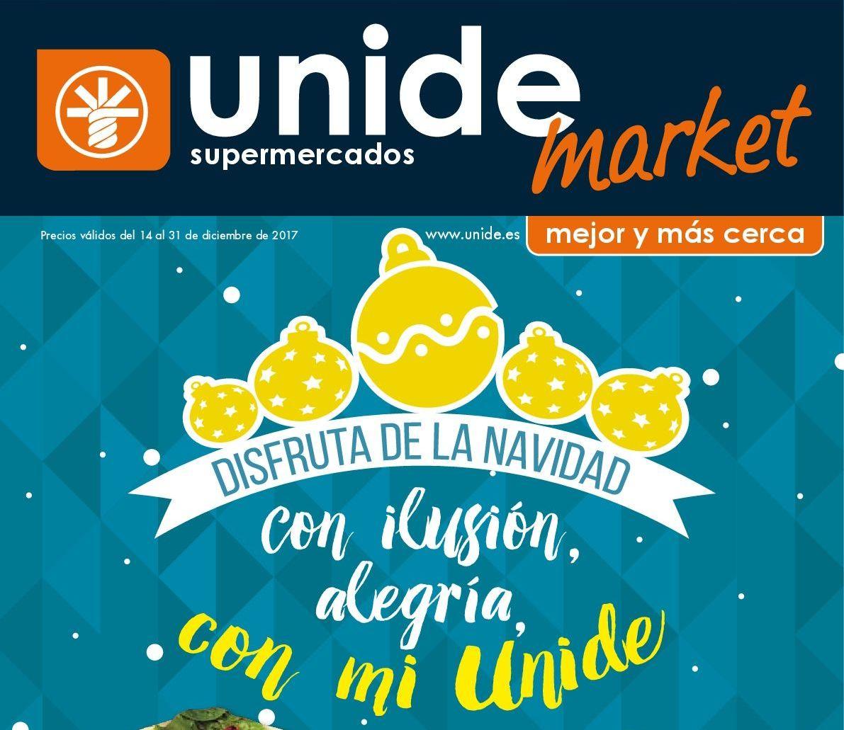 Folleto de Navidad Unide Market
