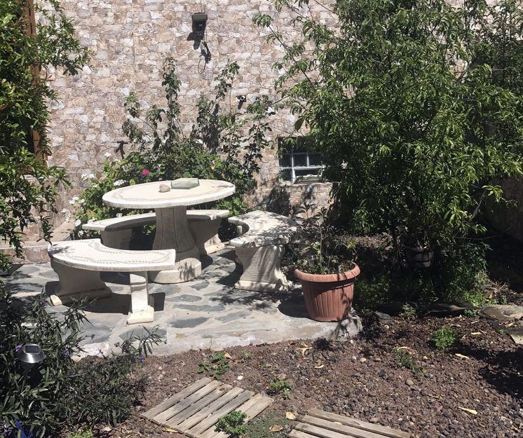 Patio y jardines