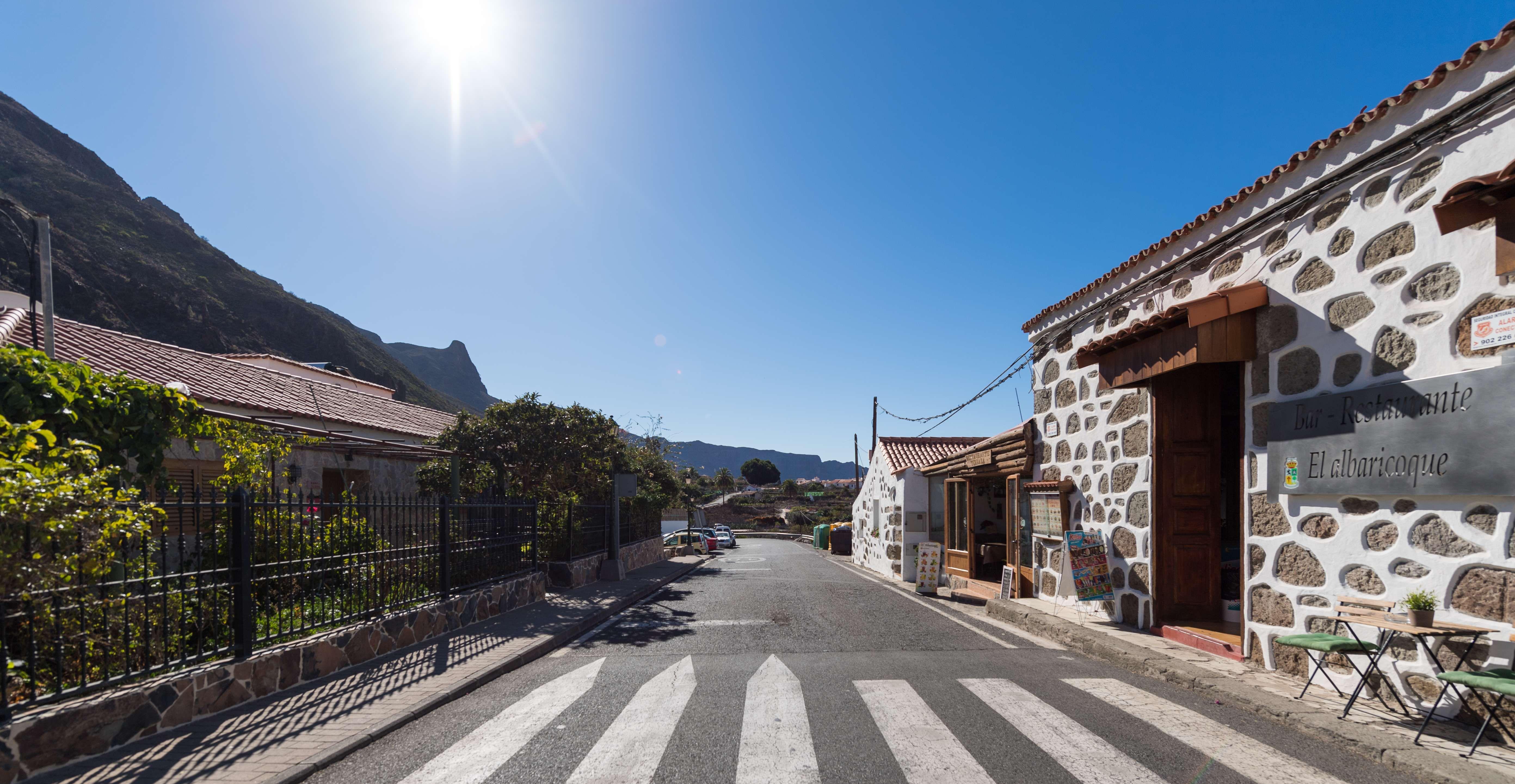 Casa Elisa, situada en el centro del pueblo de Fataga, pequeña aldea del municipio de San Bartolomé de Tirajana
