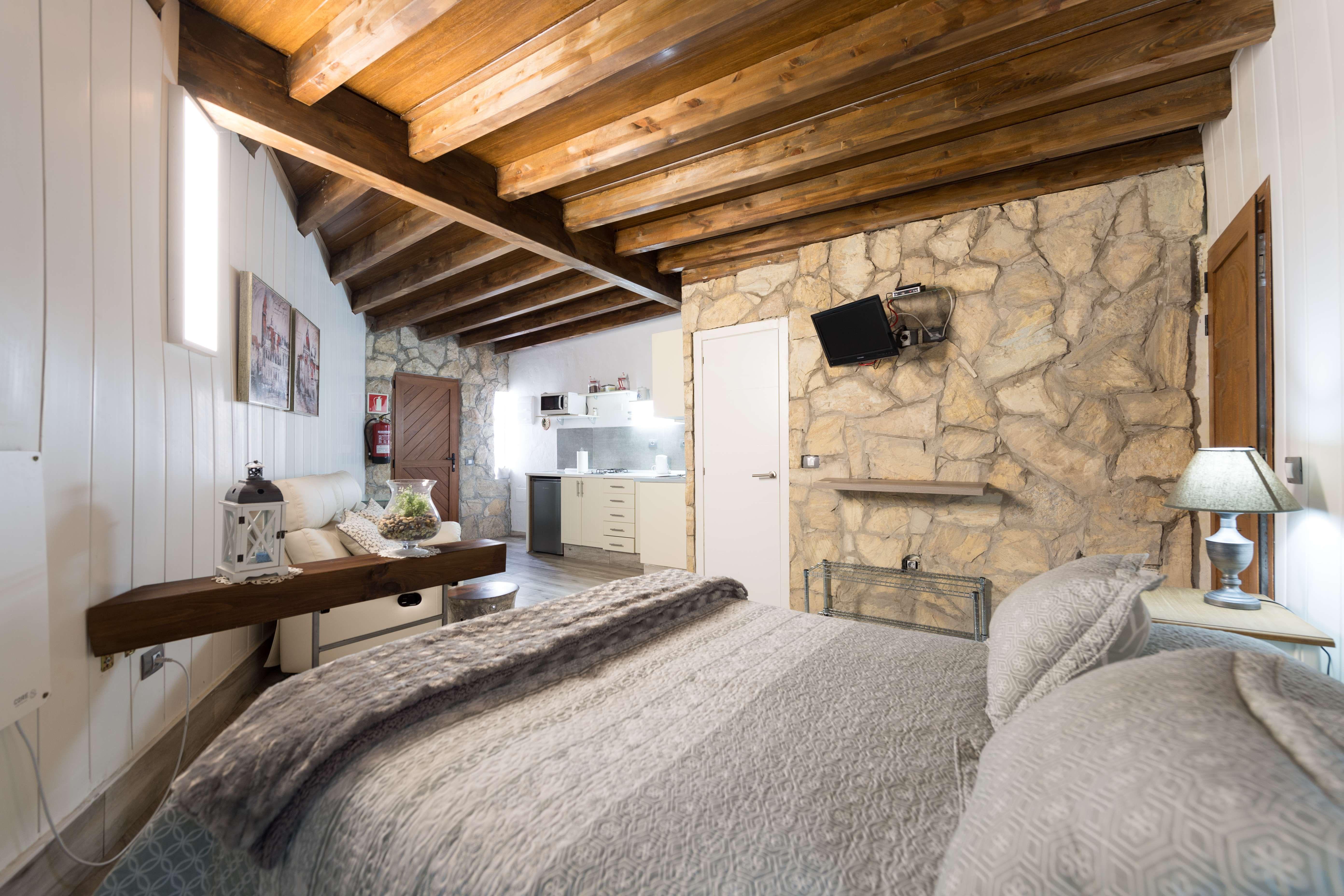 Casa Elisa Canarias situada en el centro del pueblo de Fataga