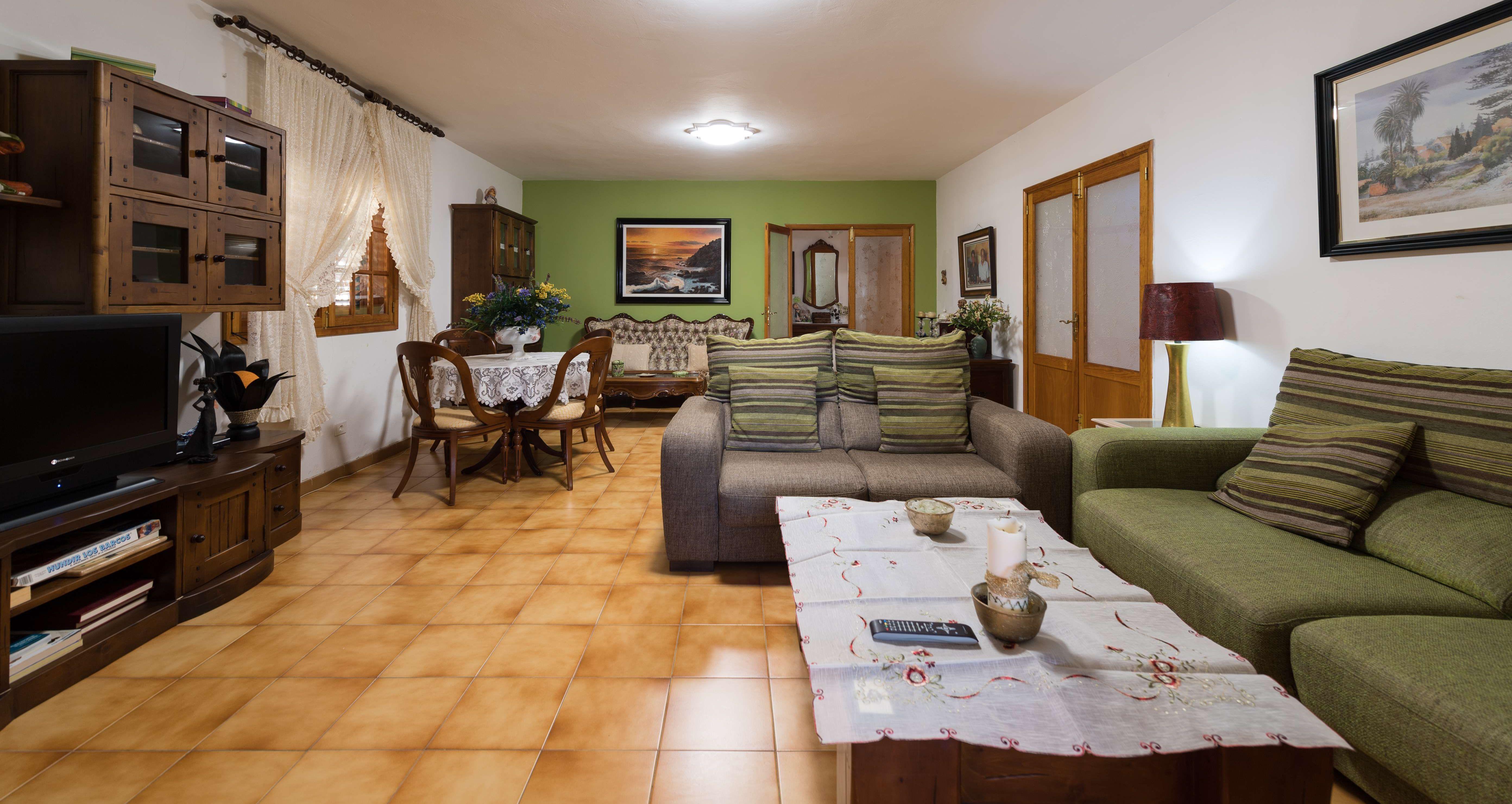 Salón de la casa principal. Casa Elisa Canarias