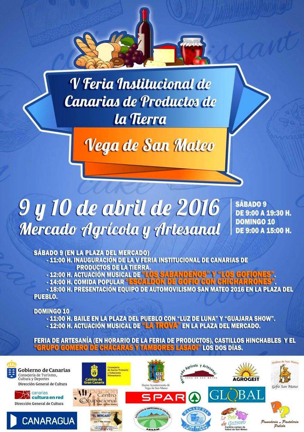 Feria institucional de Canarias de Productos de la Tierra