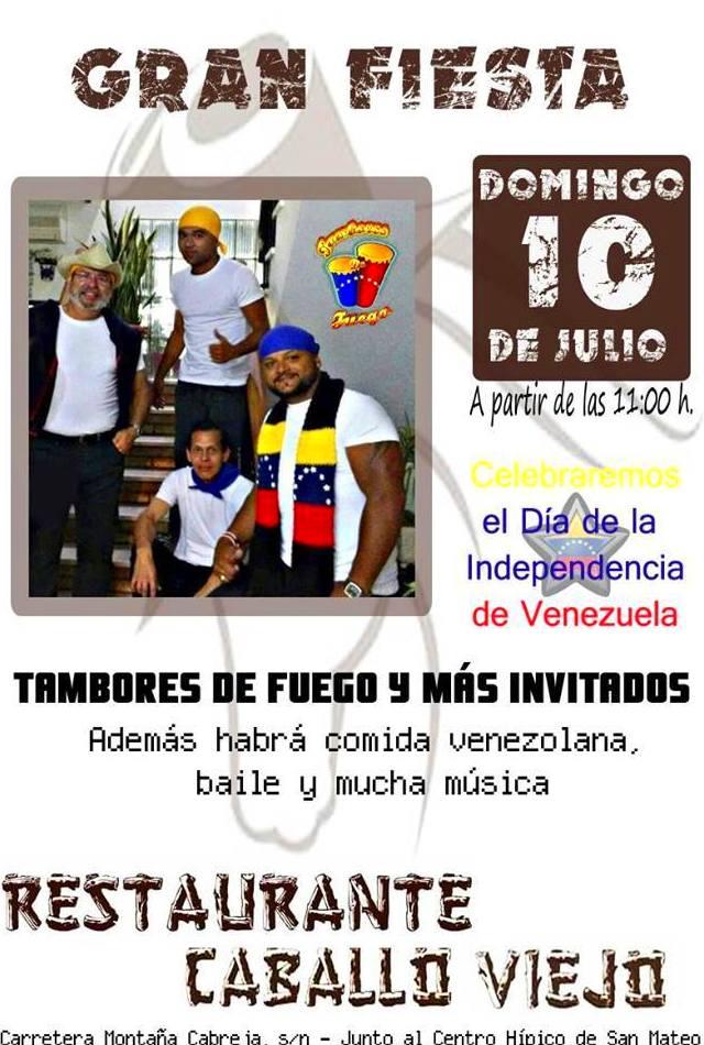 Gran Fiesta en Restaurante Caballo Viejo