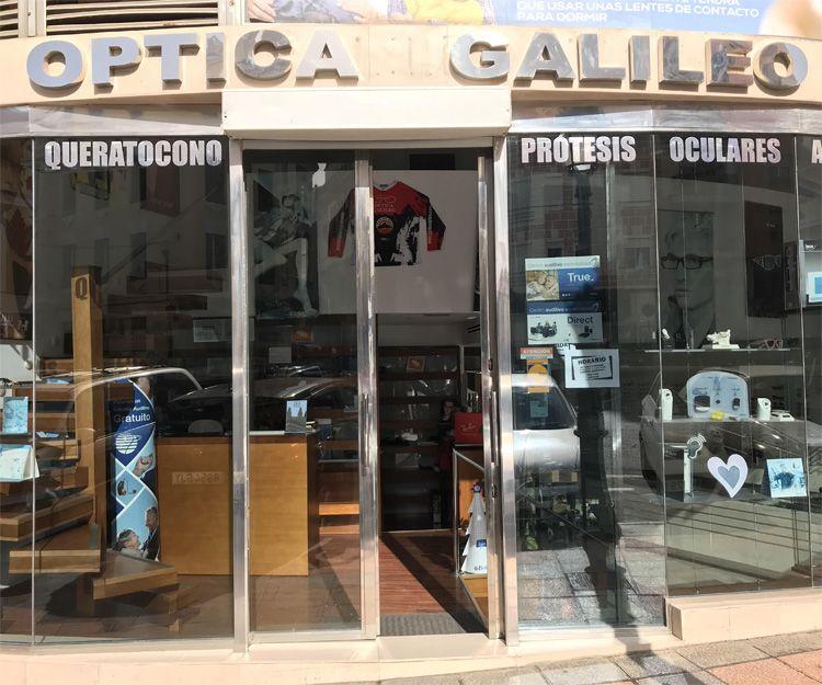 Fachada de nuestra óptica en Ceuta