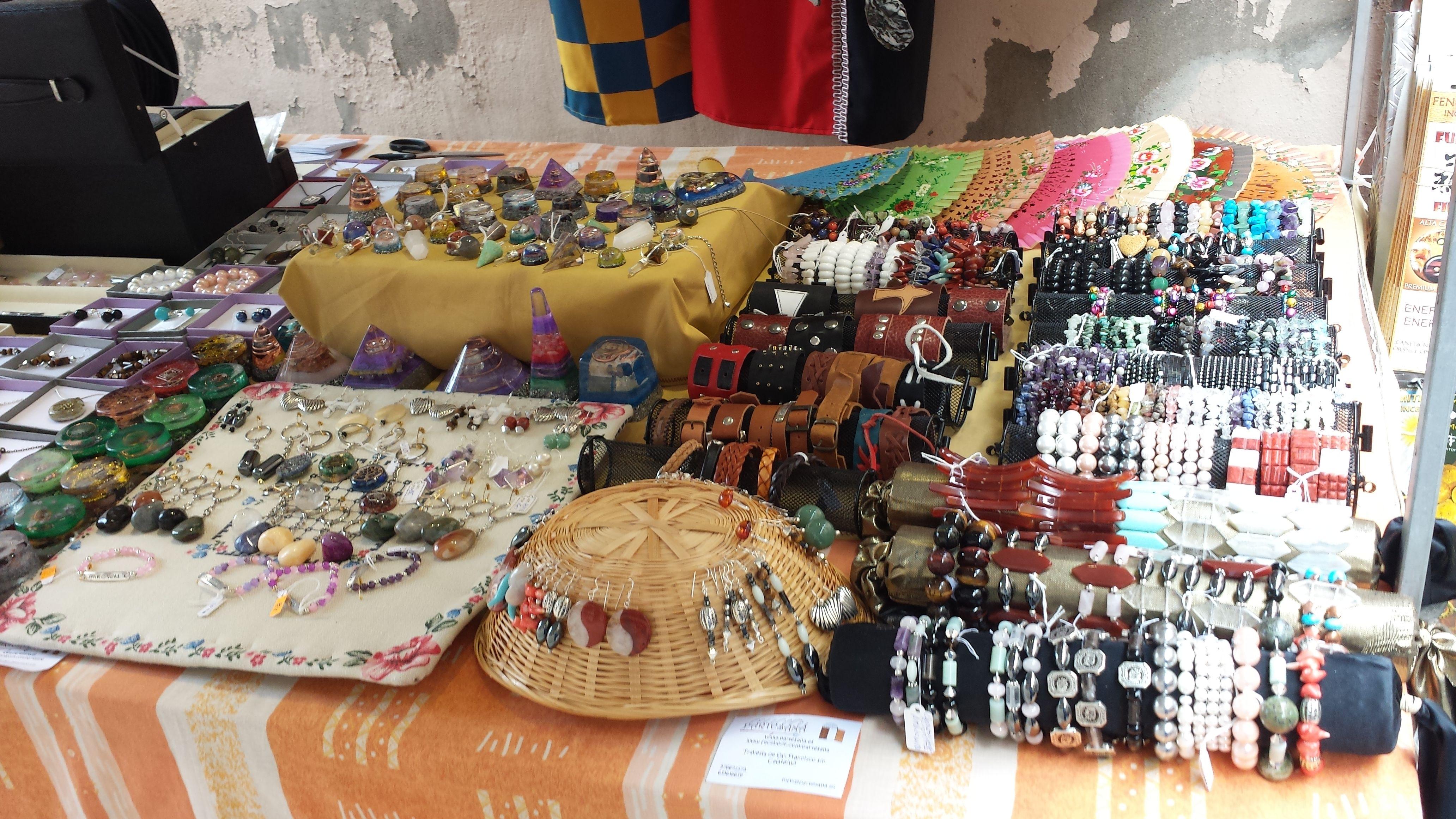 Artículos de bisutería artesanales en Daroca