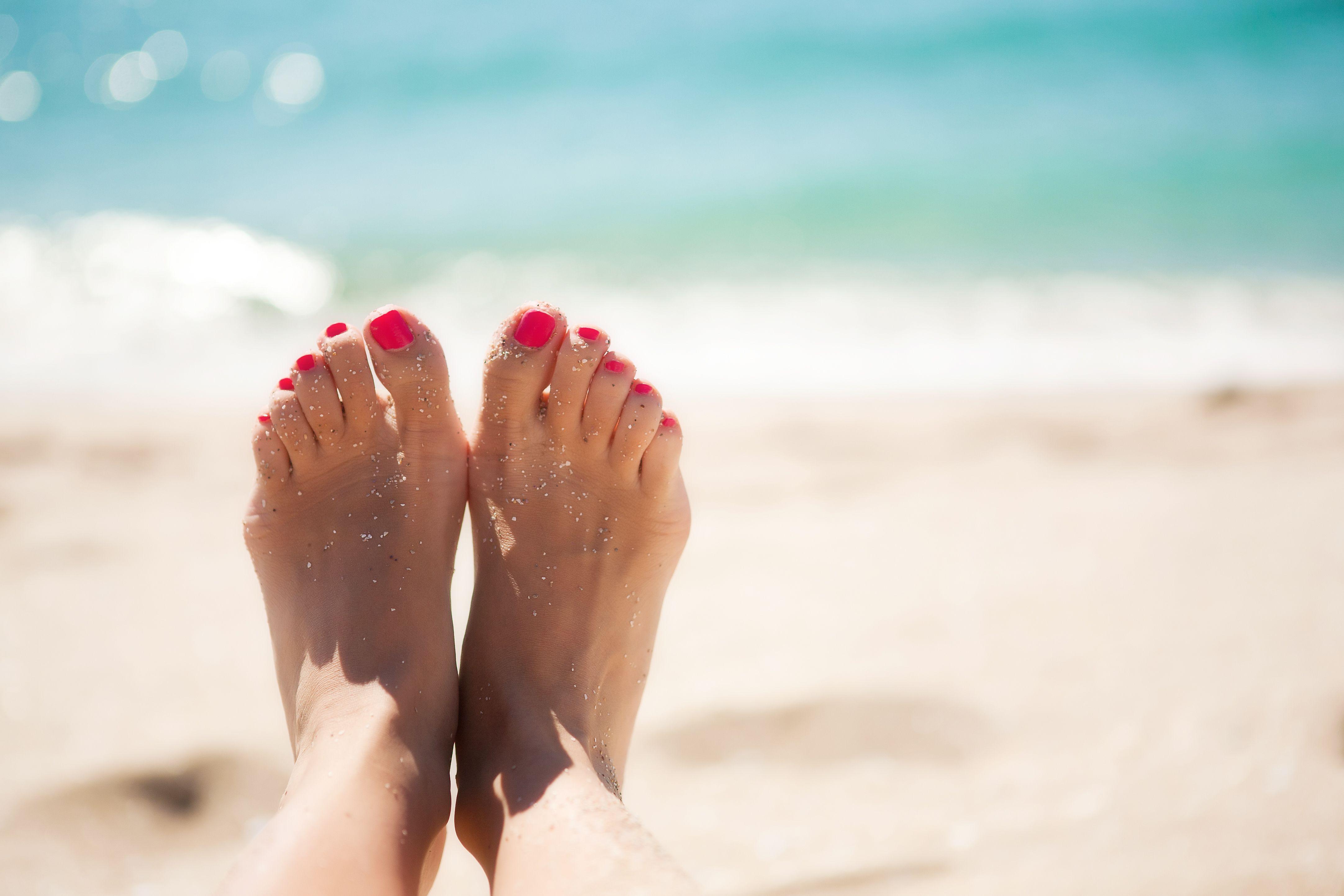 Luce unos pies bonitos