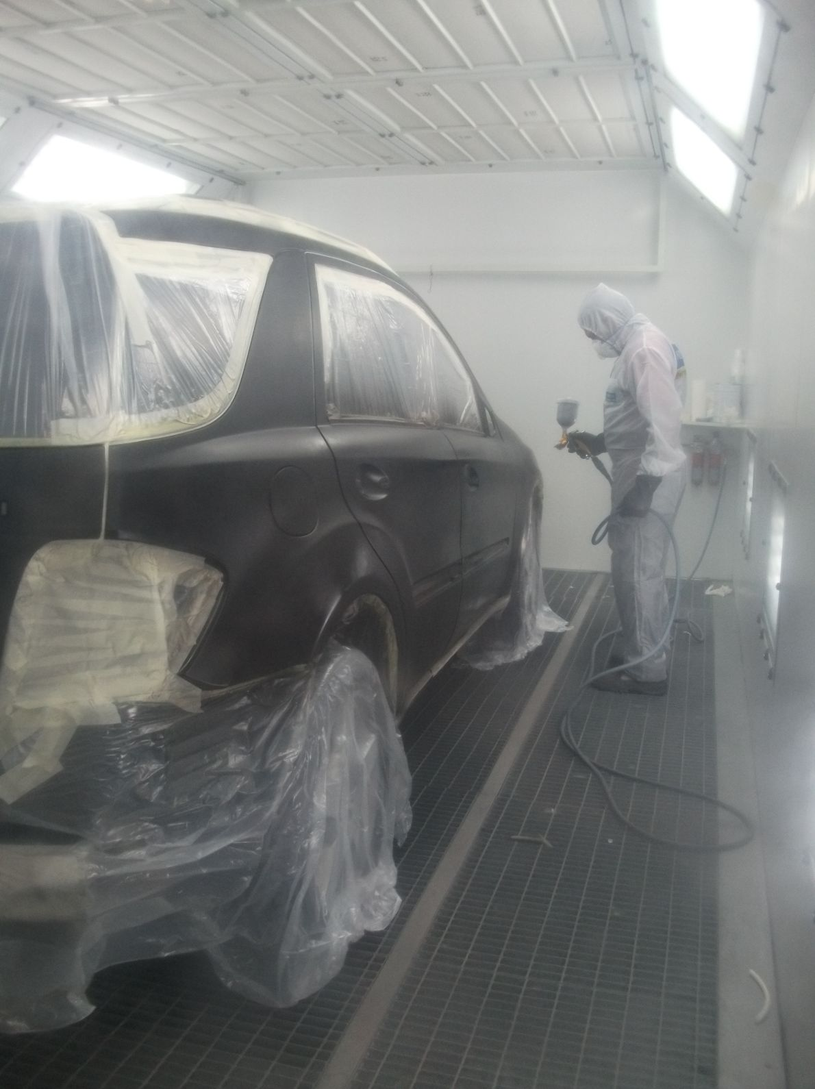Cabina de pintura para tu vehículo