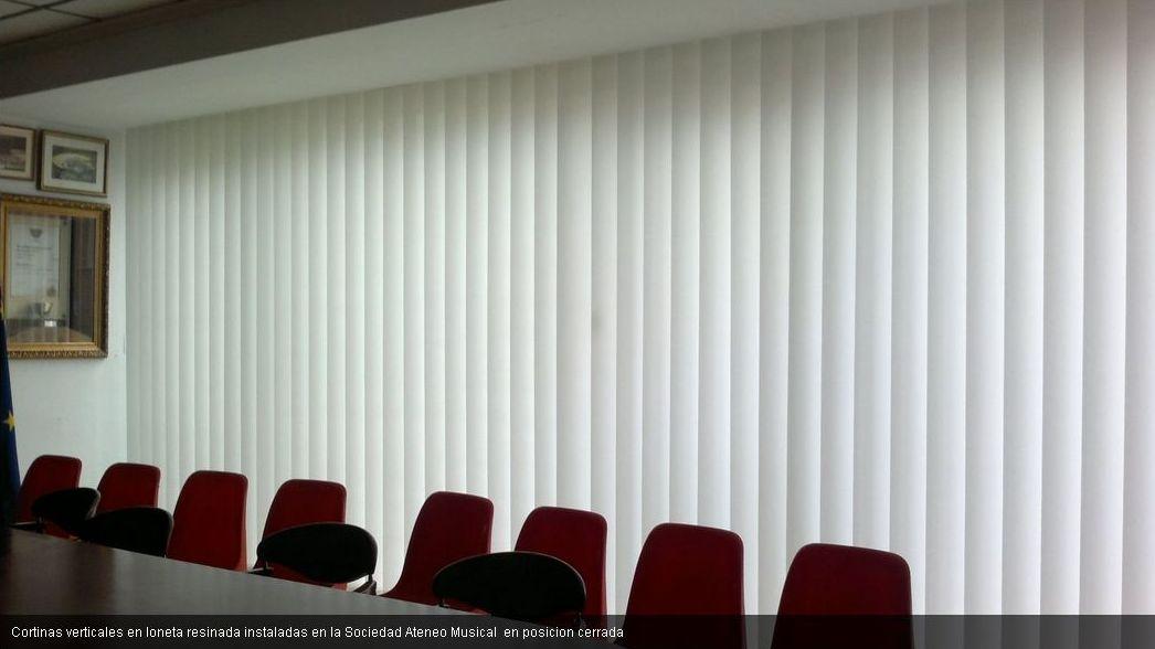 cortinas verticales Cullera