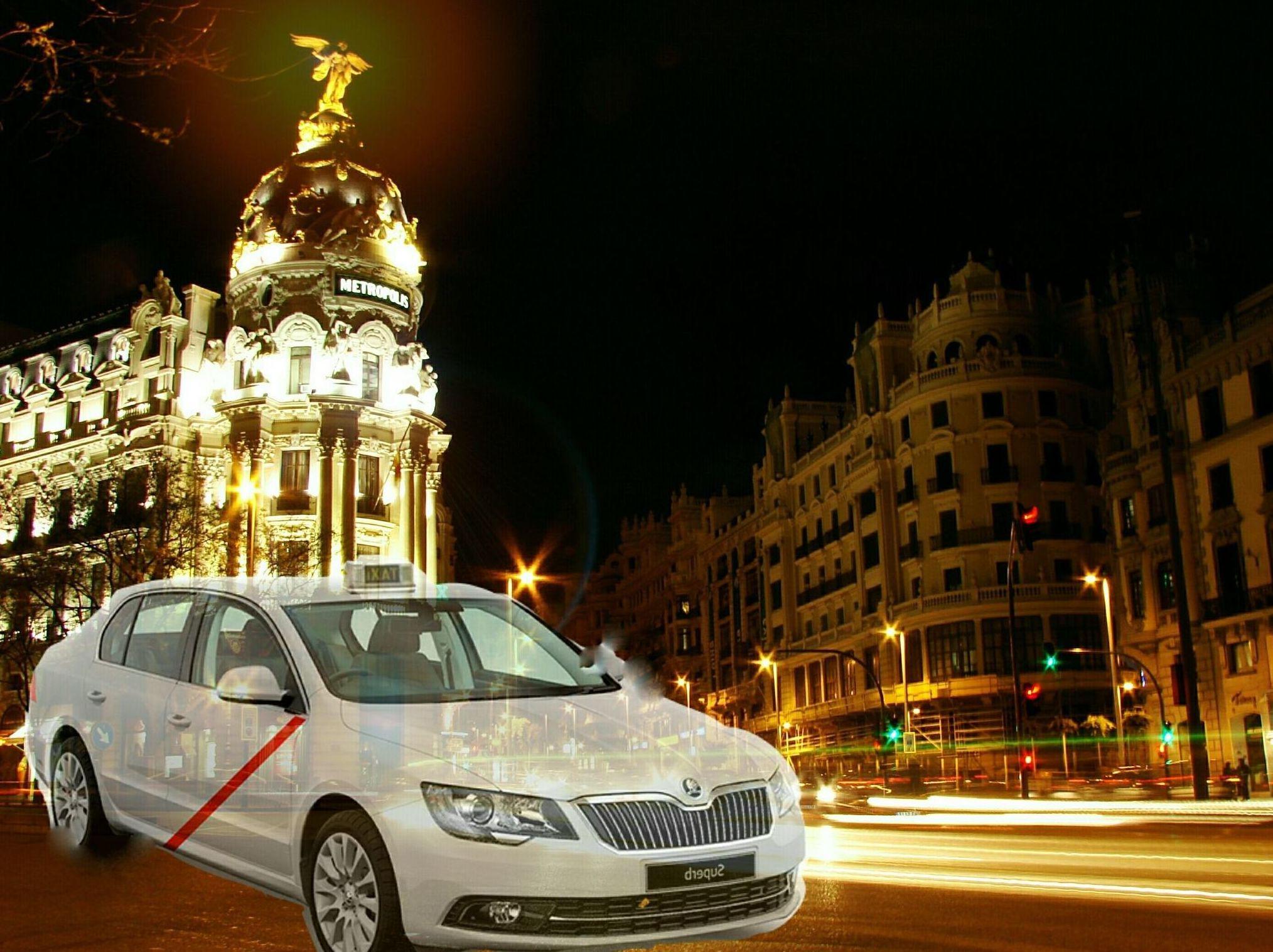 Taxi Madrid.