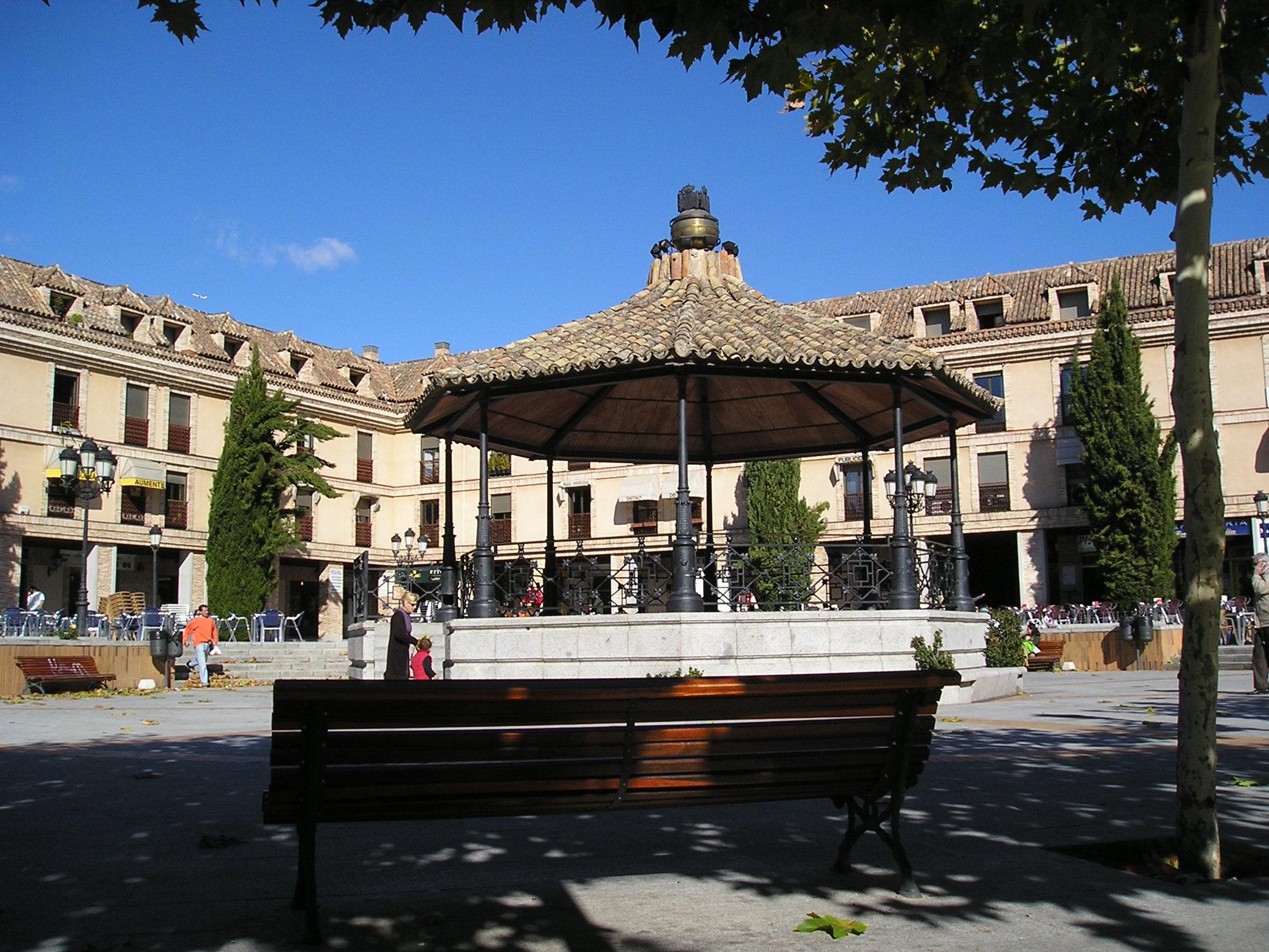 Plaza de España de Las Rozas