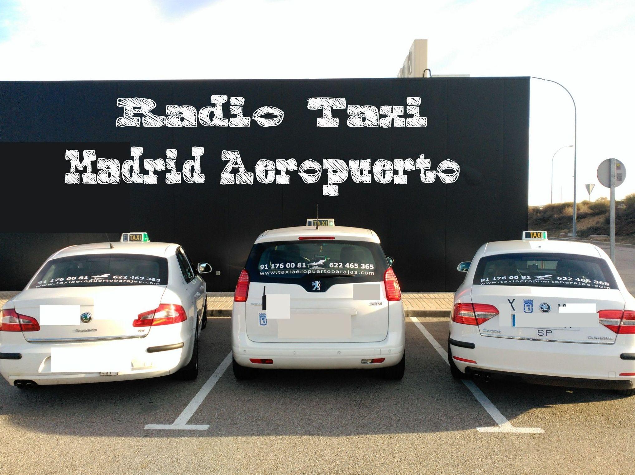 Reserva taxi Madrid aeropuerto