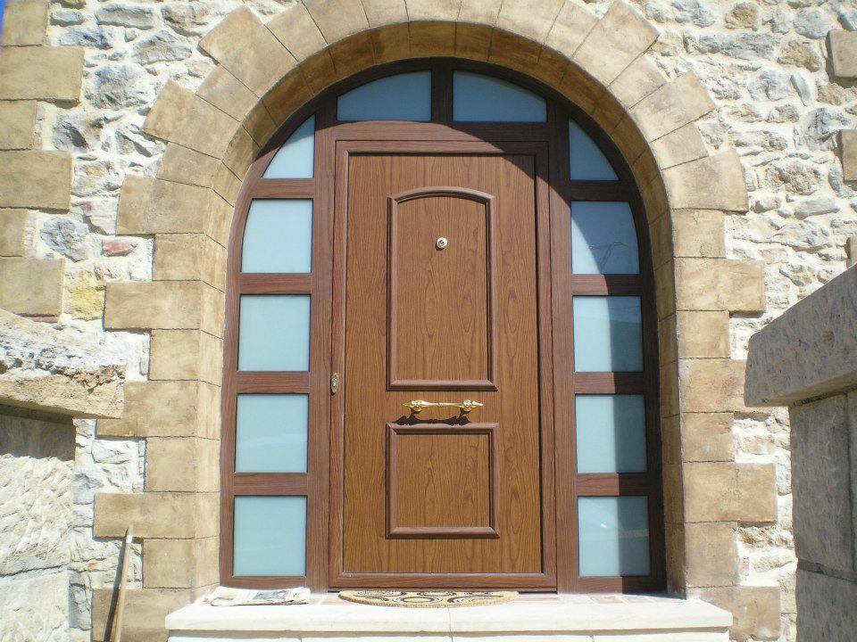 puerta entrada medio punto