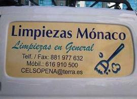 Foto 1 de Limpieza (empresas) en Santiago de Compostela | Limpiezas Mónaco