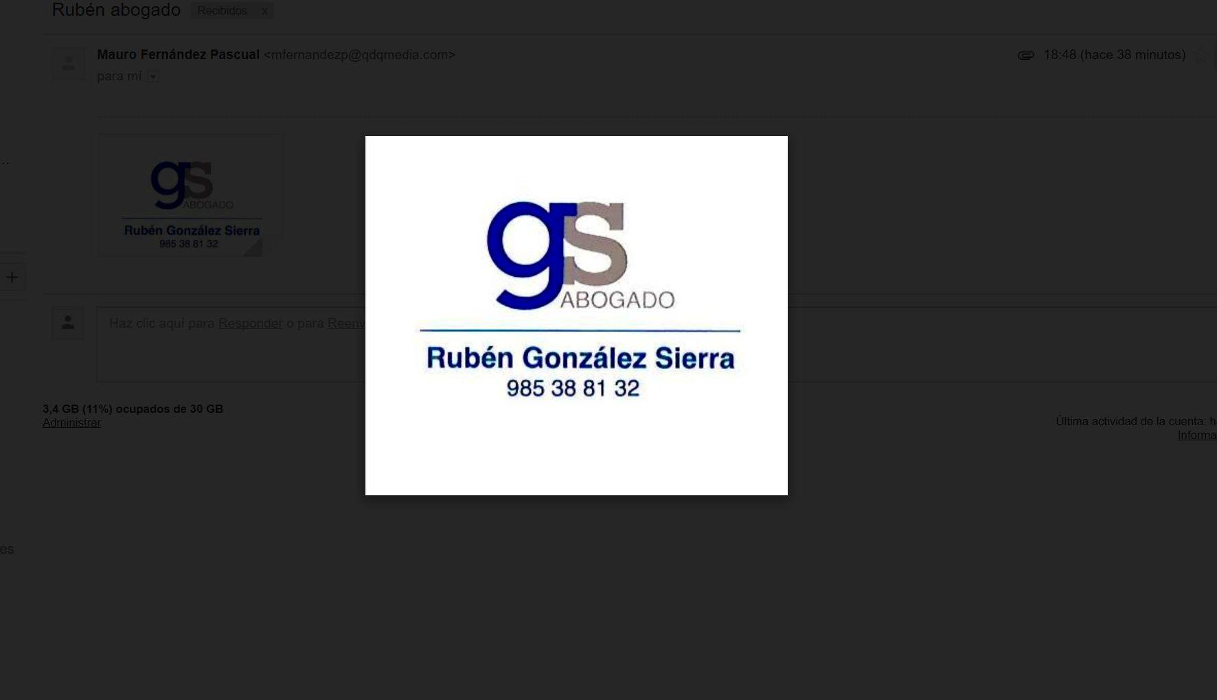 Foto 6 de Abogados en  | Rubén González SIERRA Abogados