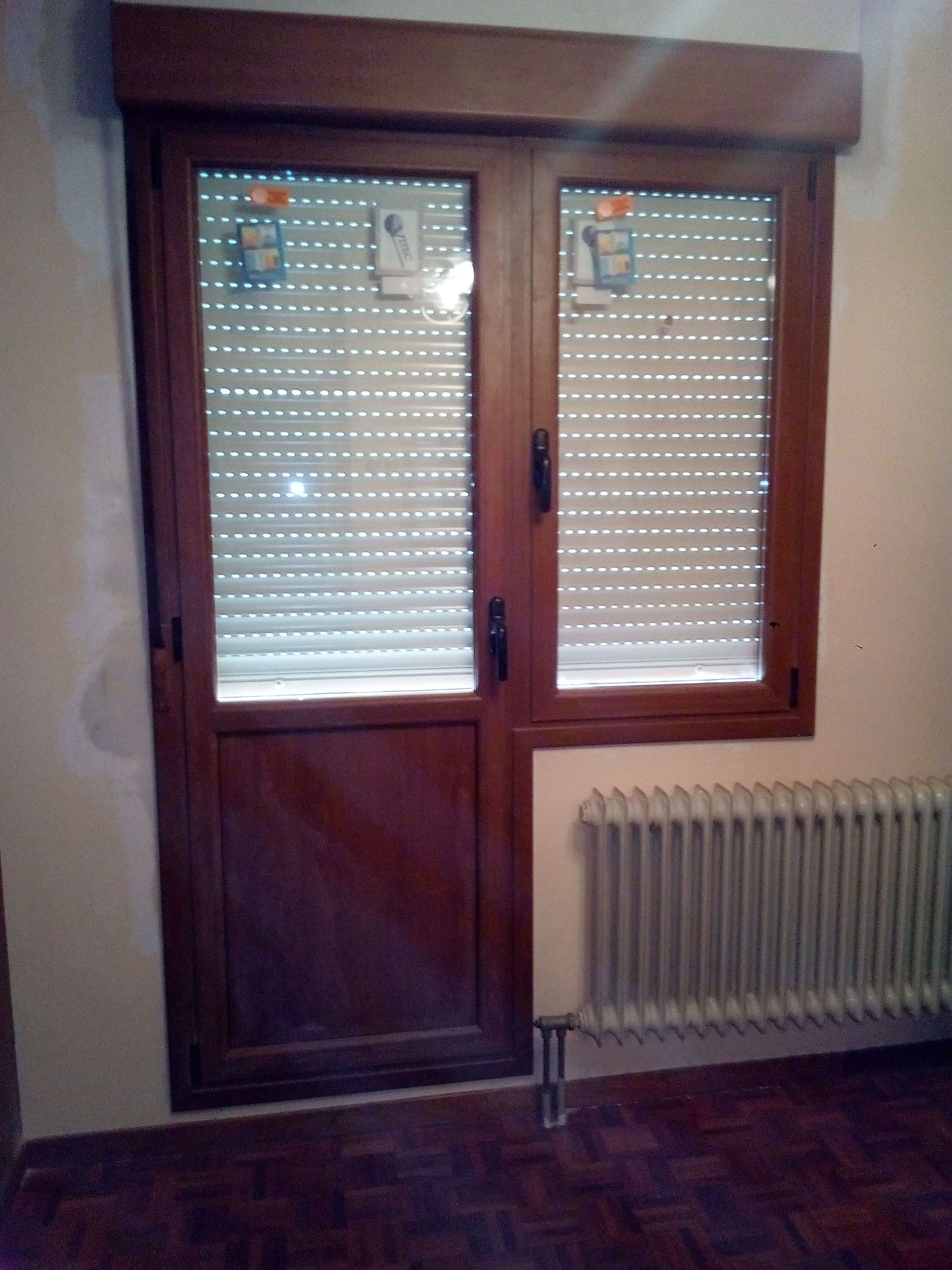Puerta ventana balconera