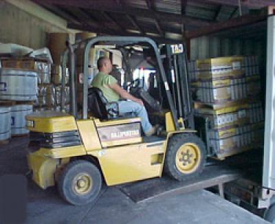 Despacho de mercancías: PRODUCTOS Y SERVICIOS de Trini, S.L.