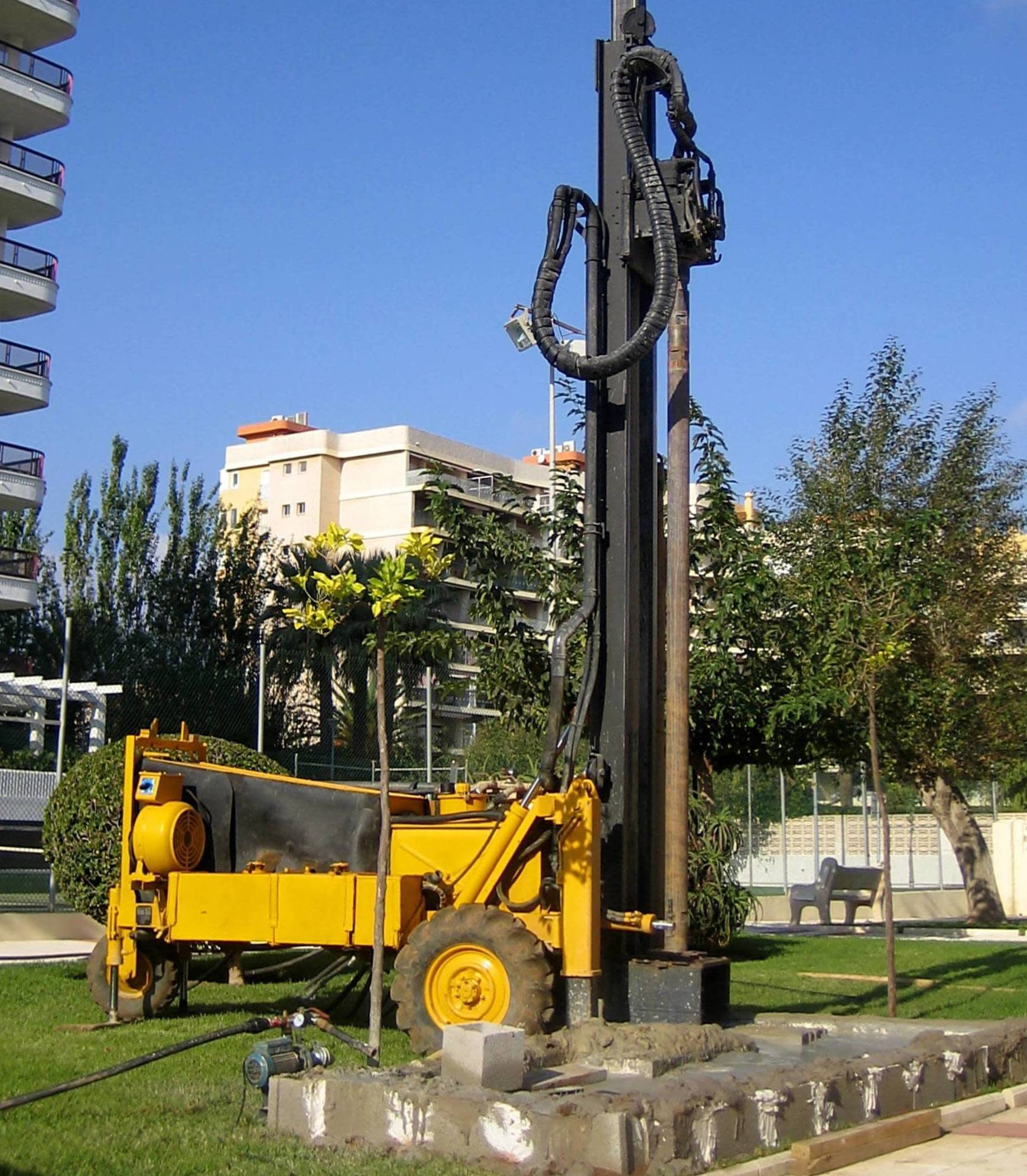 Perforaciones y sondeos en Oliva  - Valencia