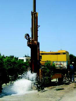 pozo de agua valencia alicante