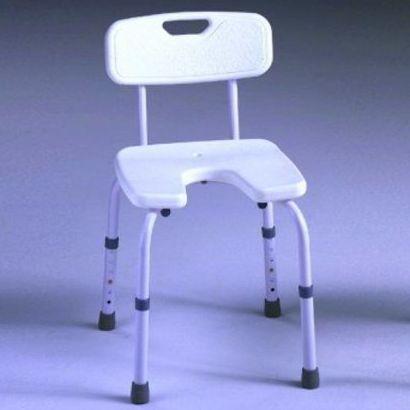 Taburete con y sin respaldo y Asiento en U: Productos y servicios   de Ortopedia