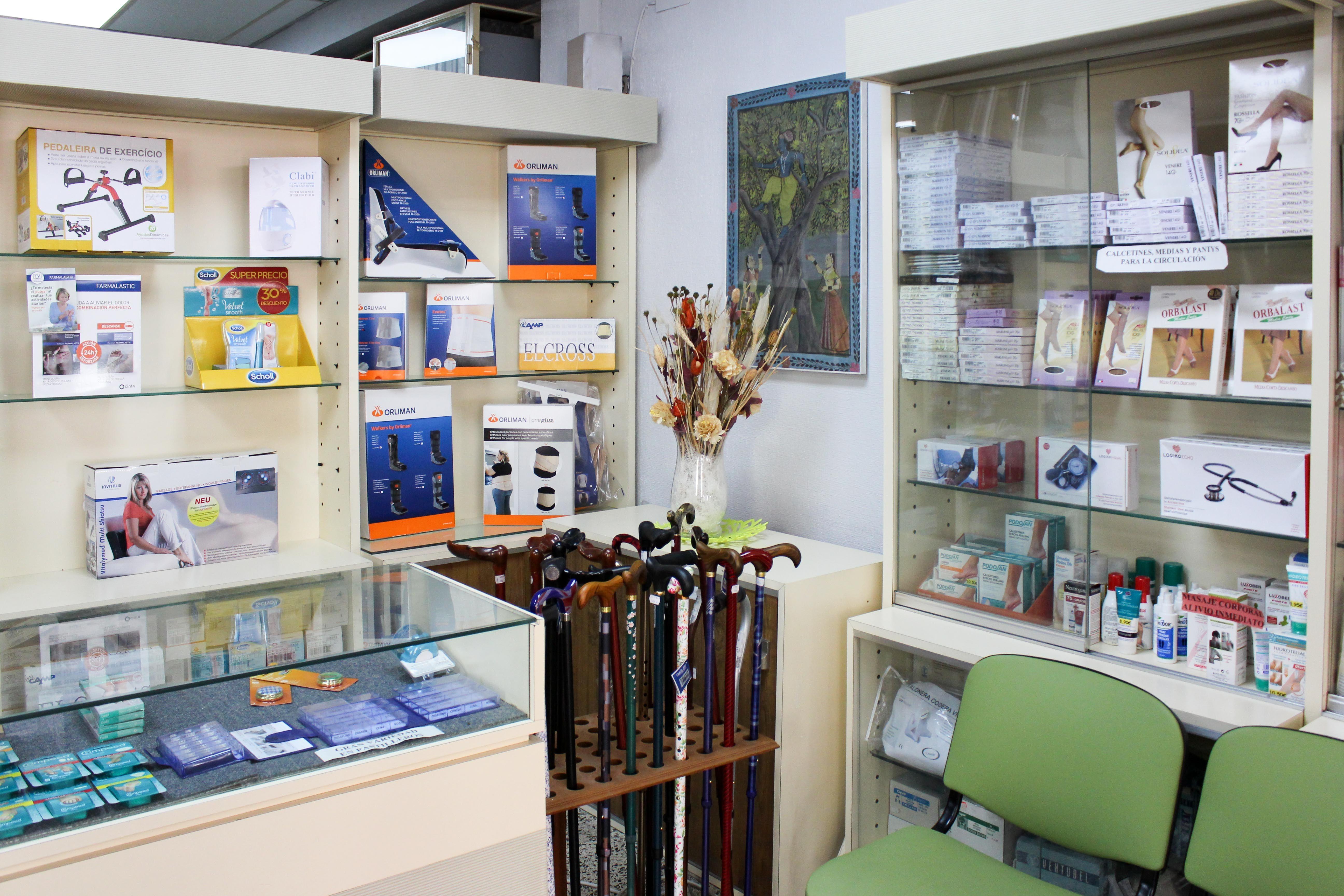 Parafarmacia: Productos y servicios   de Ortopedia