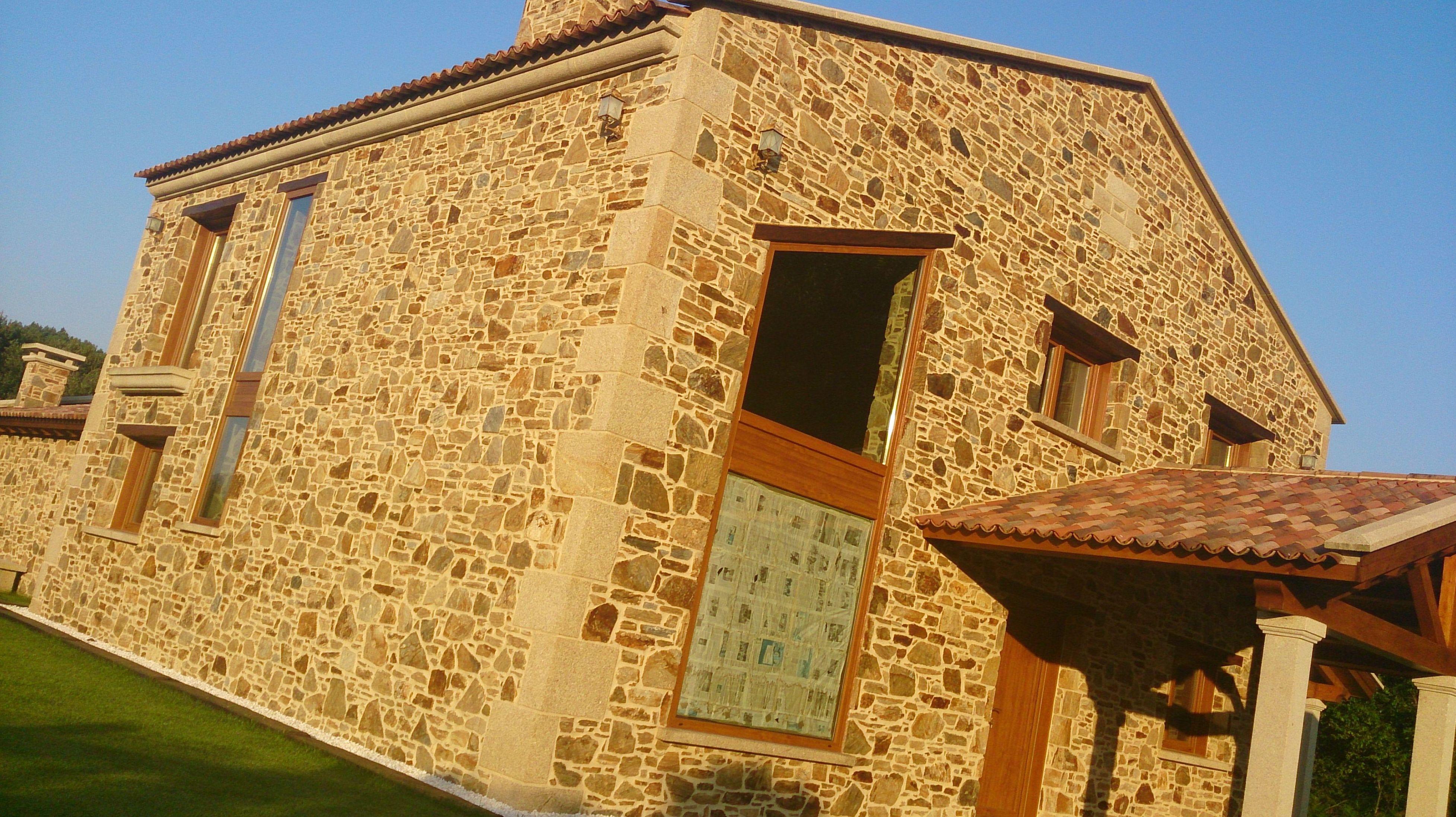 Reforma de fachadas de piedra