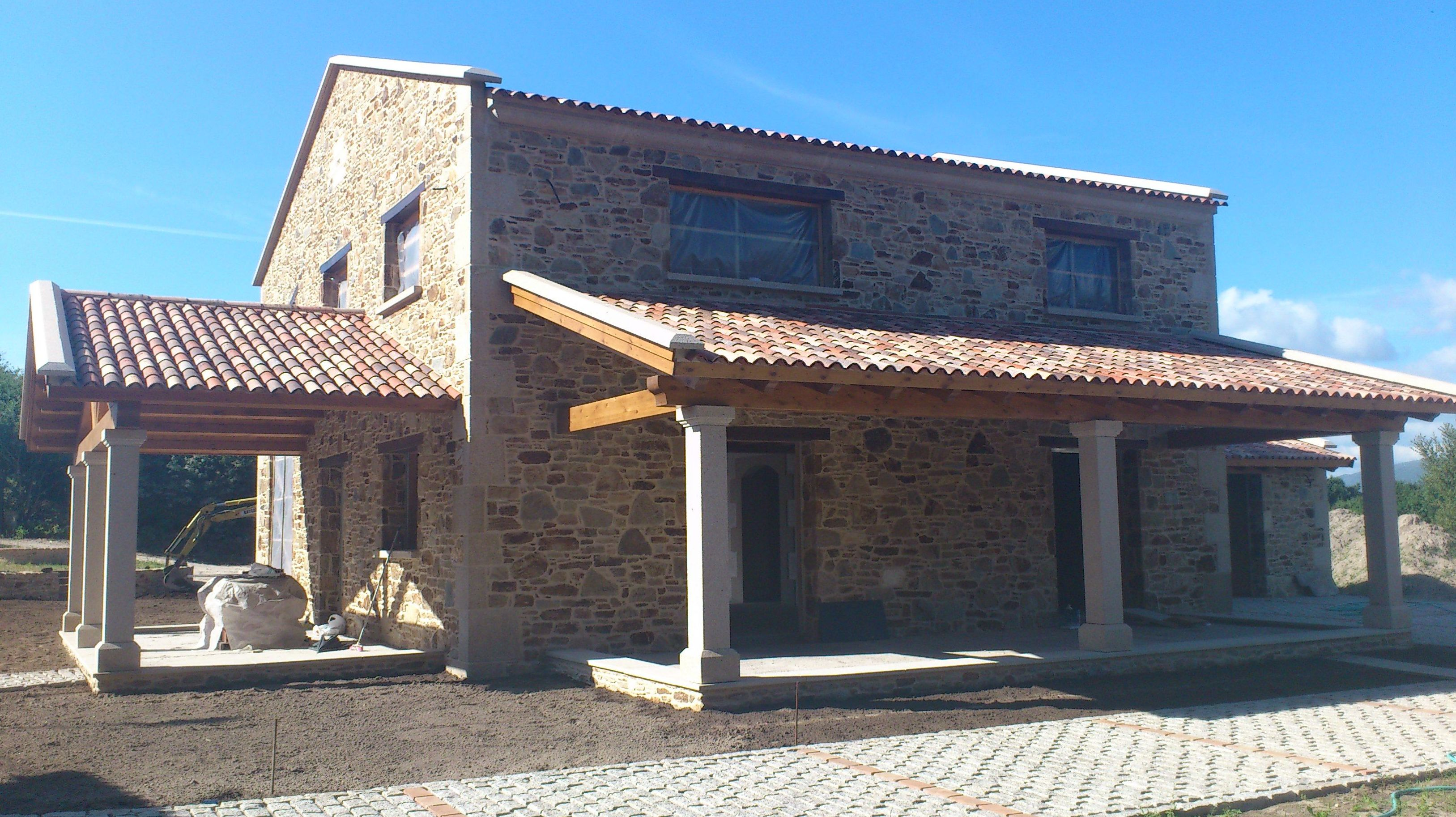 Trabajos artesanos en piedra: Servicios y proyectos de Construcciones Javier Sánchez