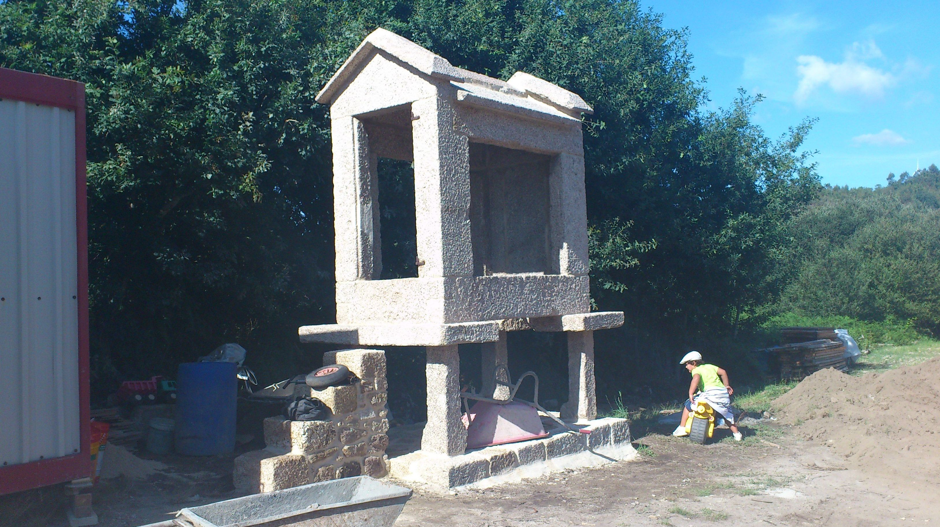 Trabajos artesanos en piedra