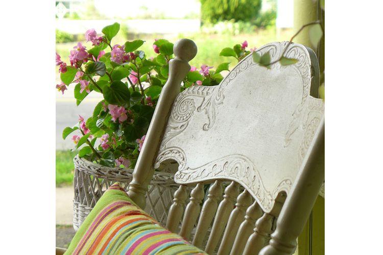 Mobiliario de jardín antiguo