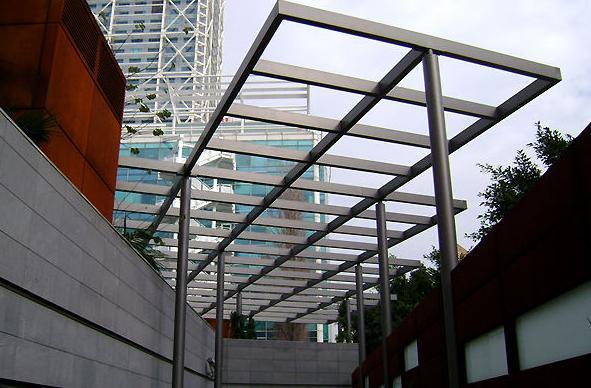 Estructuras metálicas en Barcelona