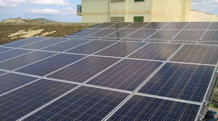placas solares palma