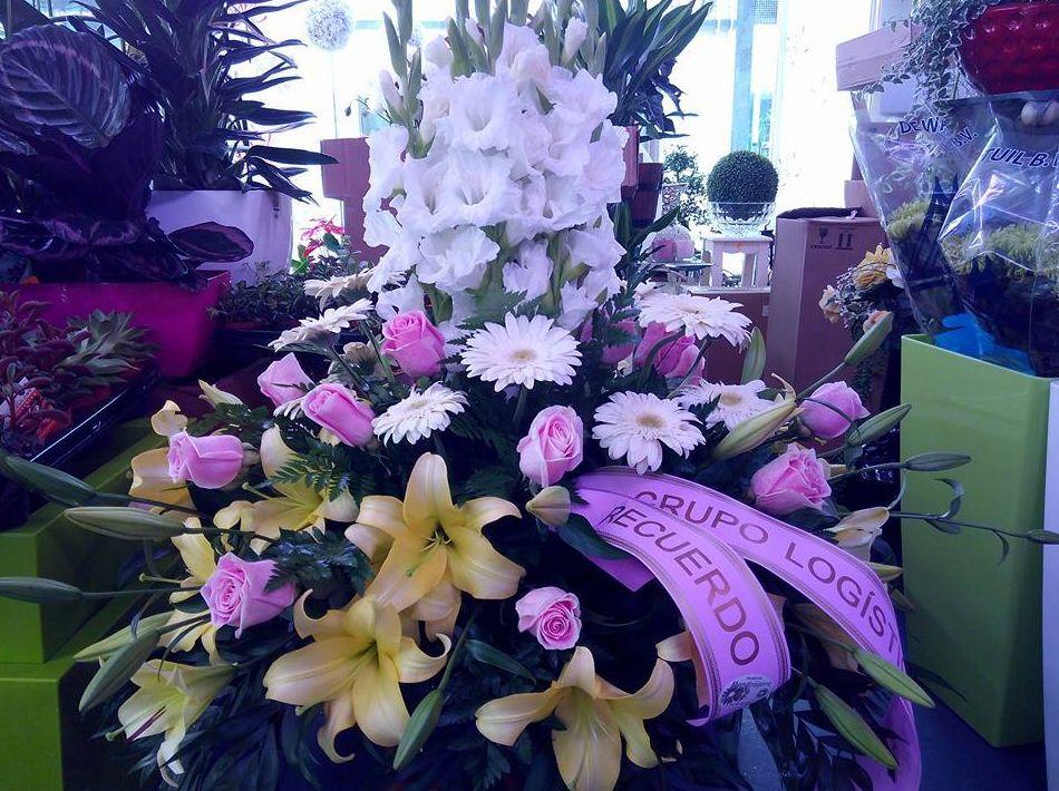 Ramo de flores para defunciones