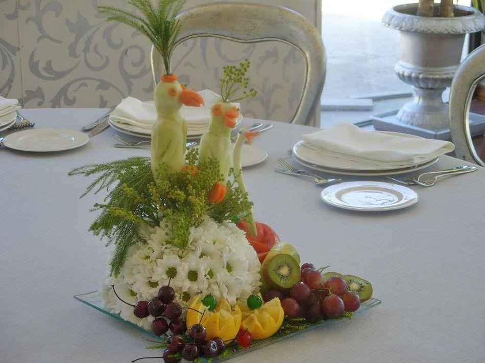 Centro floral de mesa para boda