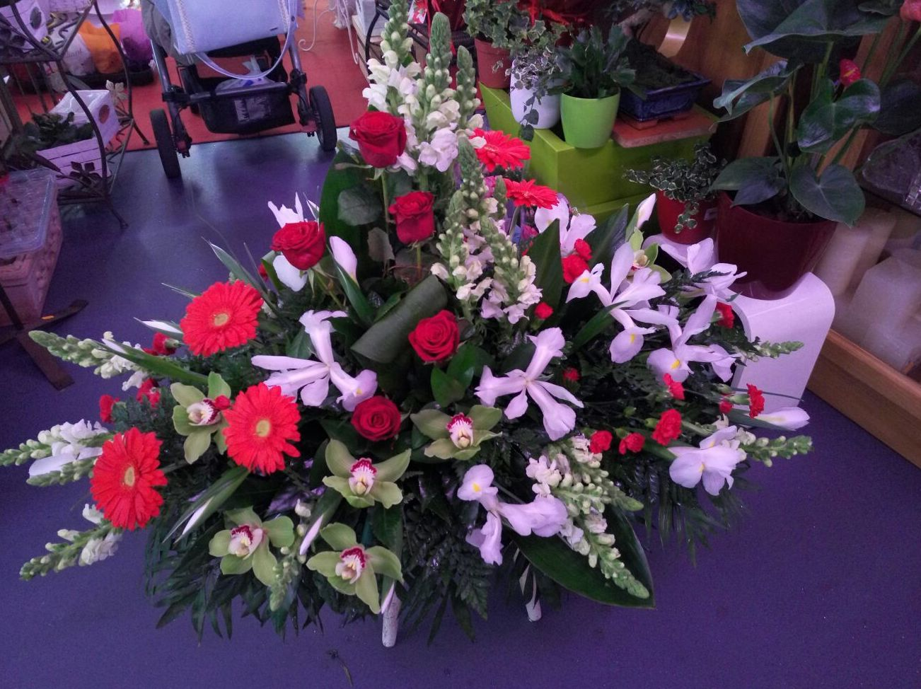 Arreglos florales A Coruña. Mandrágora Floristería