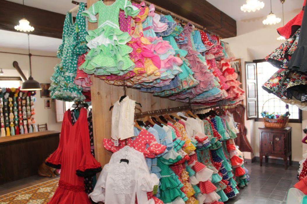 Trajes de flamenca para niña en Cordoba