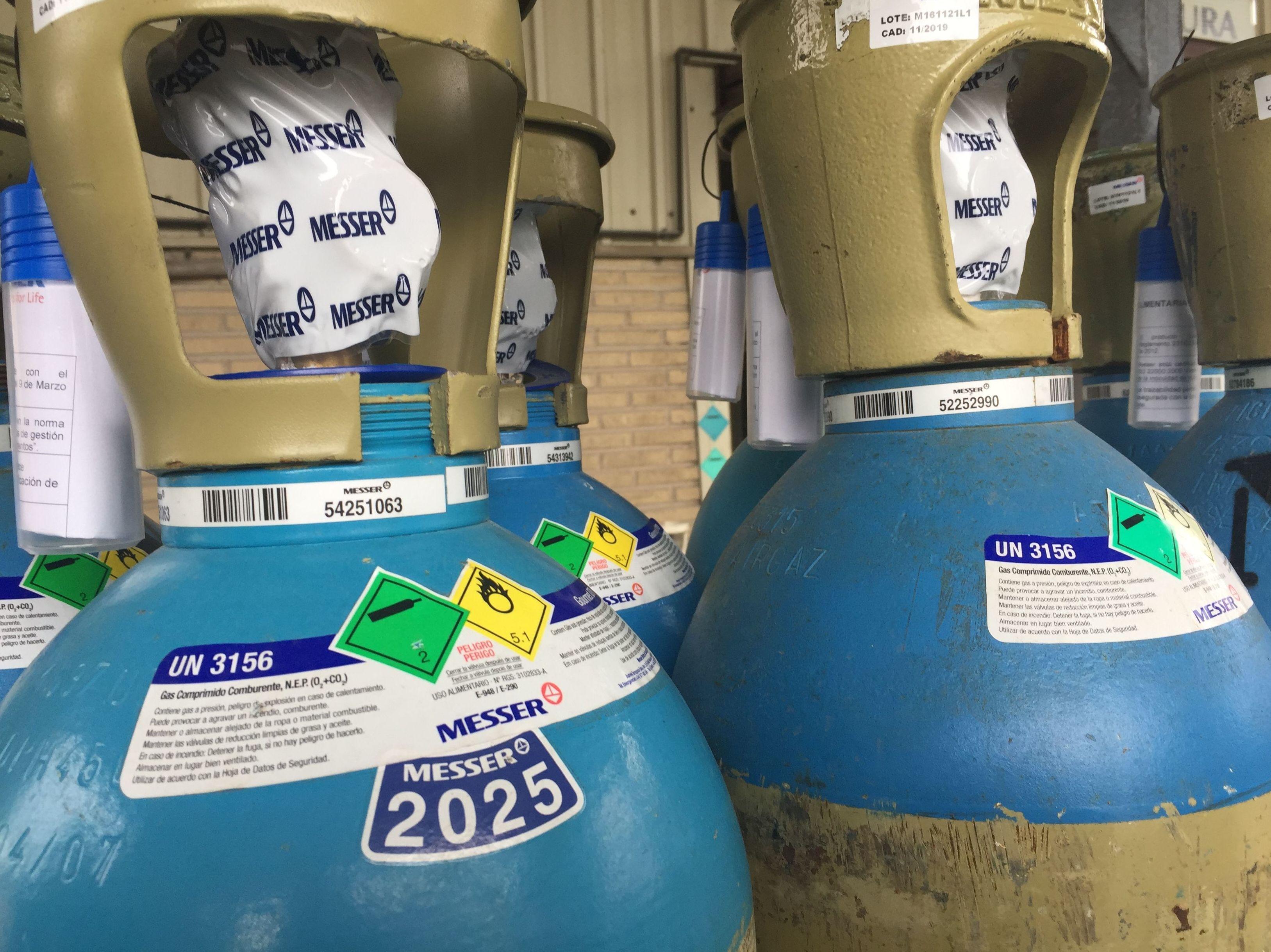 Gases para la Industria Alimentaria: Productos de Disgasin, S.L.