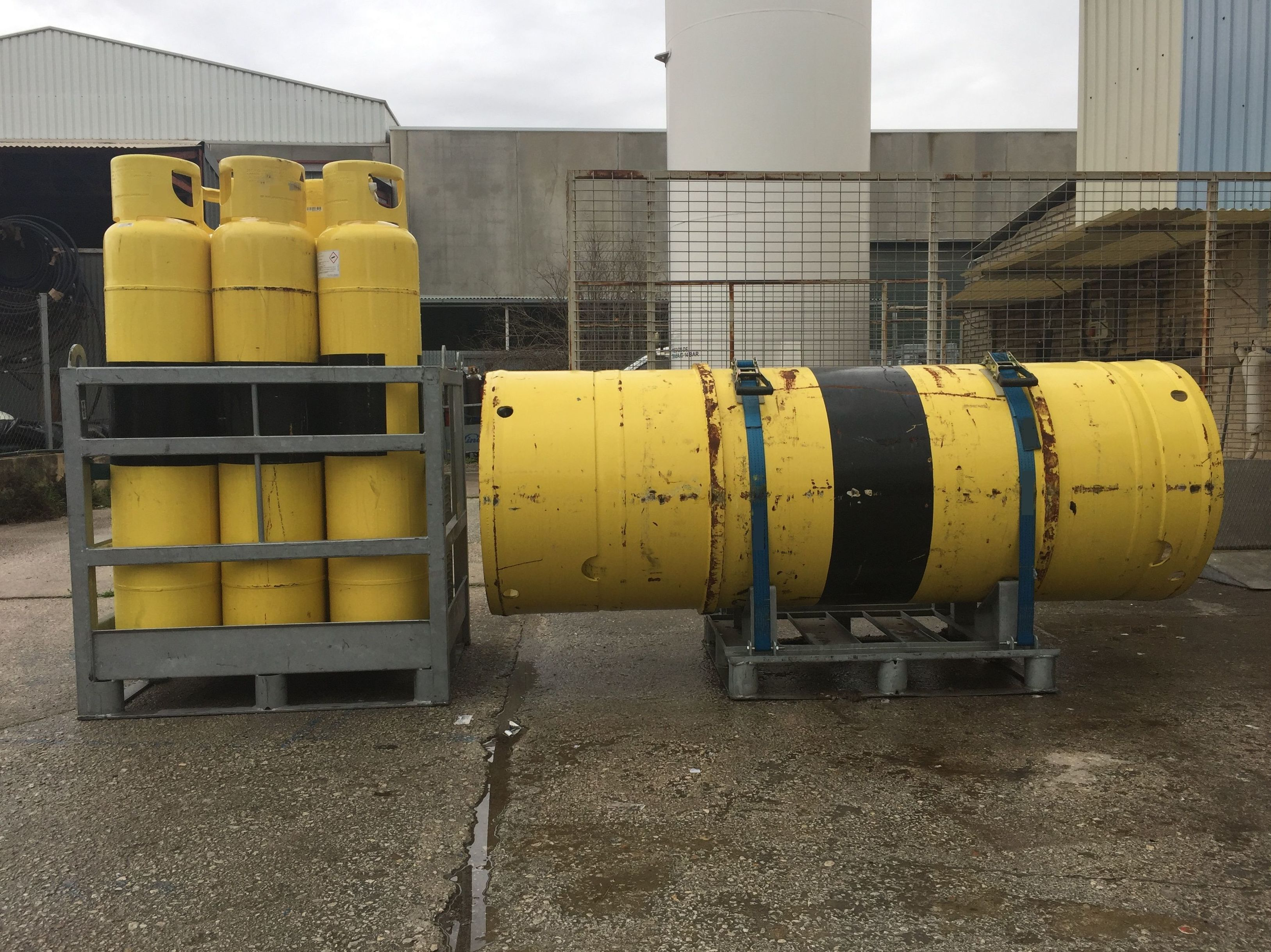 Foto 18 de Venta y distribución de gases industriales y alimentarios en San Ginés | Disgasin, S.L.