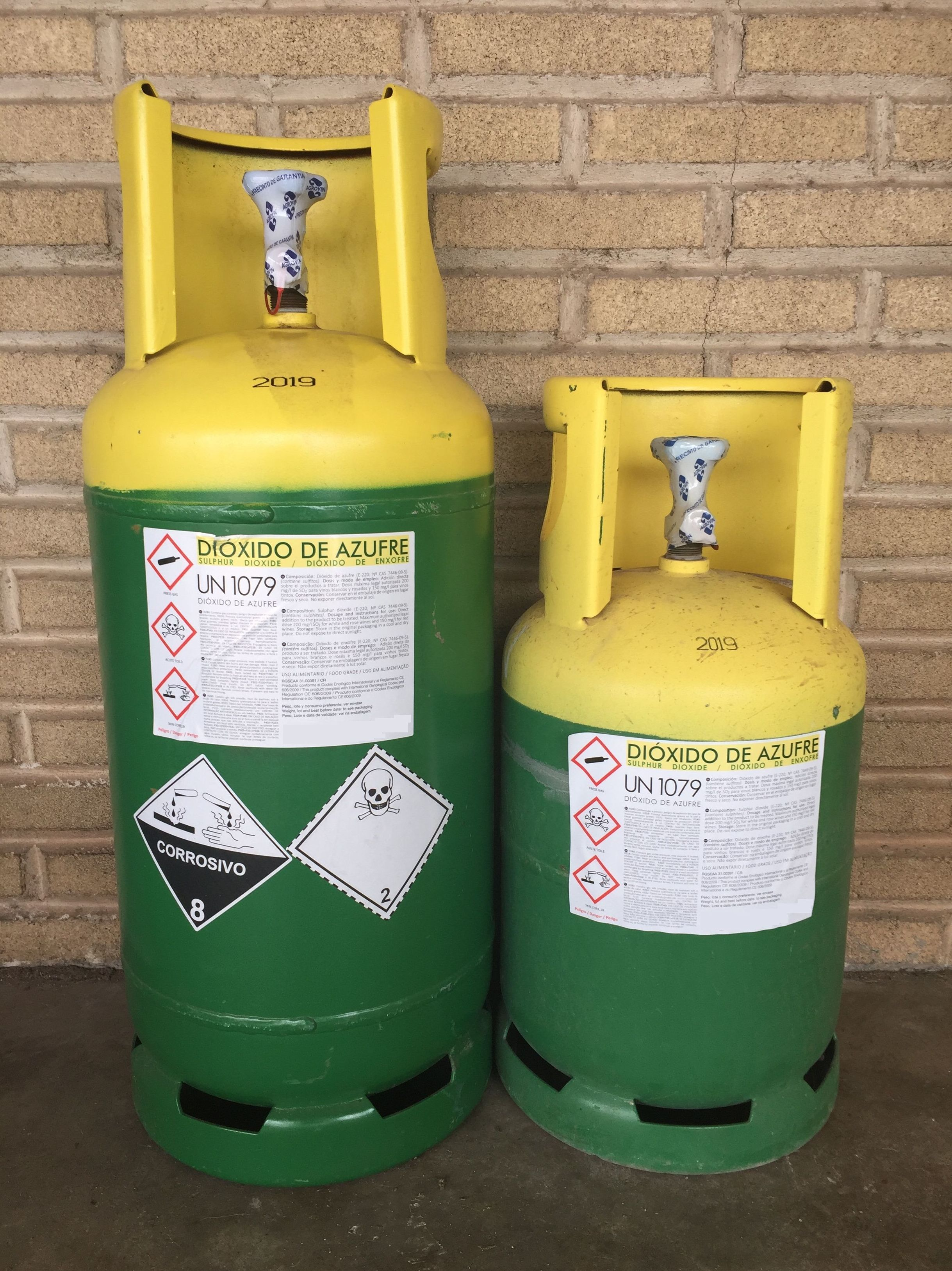 Dióxido de Azufre (E-220): Productos de Disgasin, S.L.