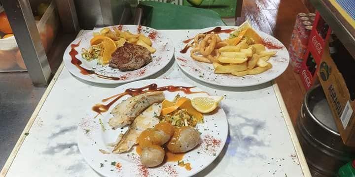 Comida mediterránea y canaria
