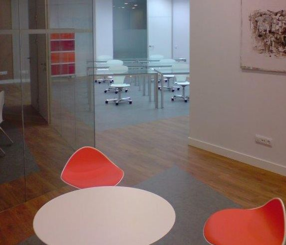 Montaje de oficinas en Madrid