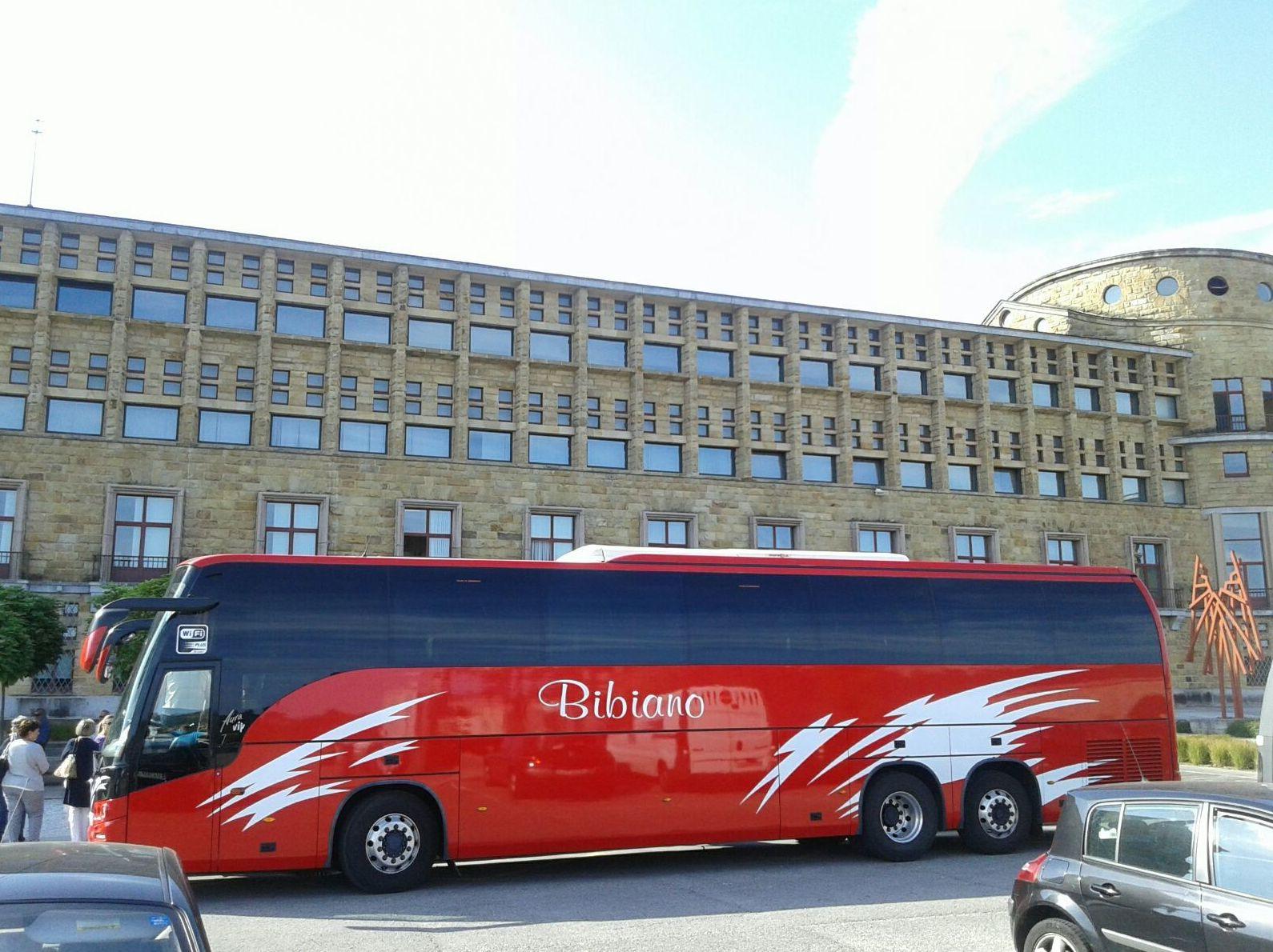 Autobuses para excursiones