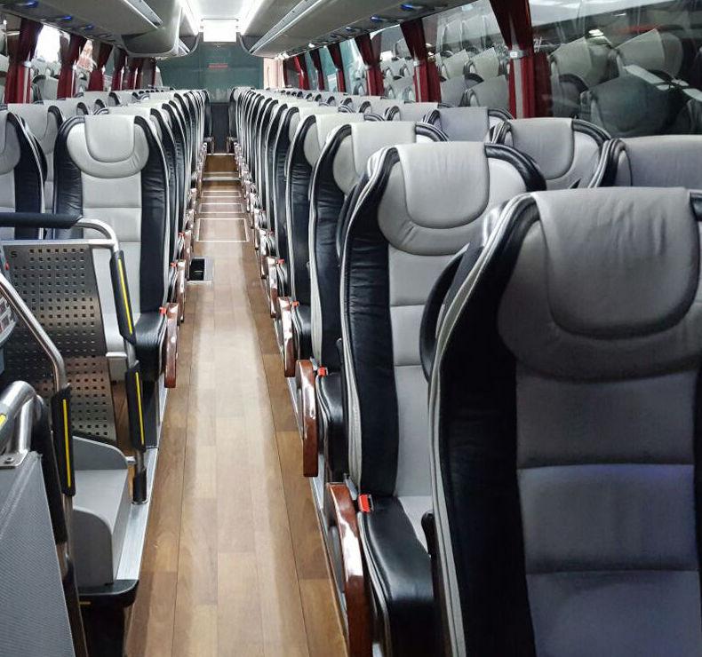 Máxima comodidad en nuestros autobuses