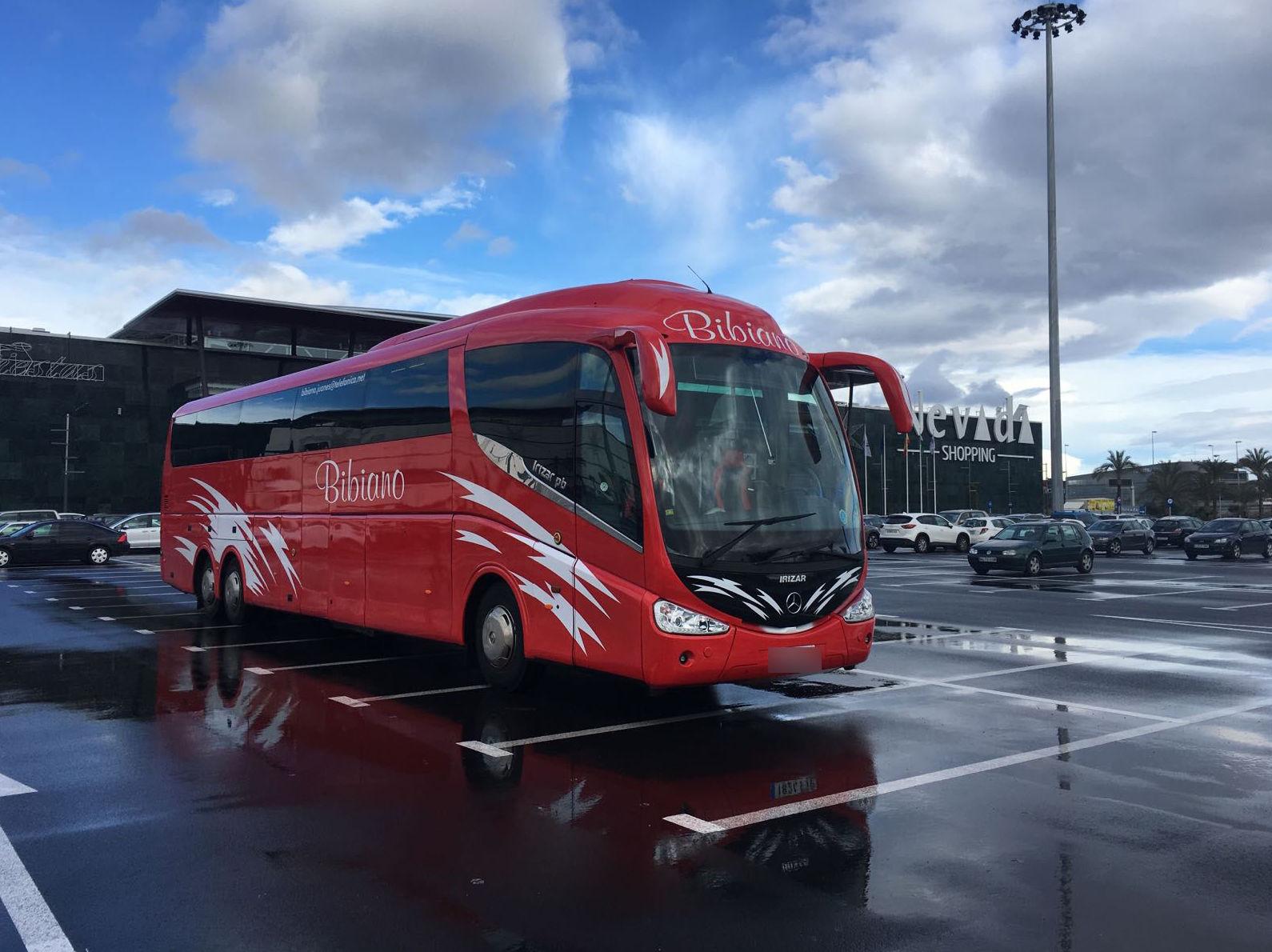 Autobuses para excursiones por España y Europa