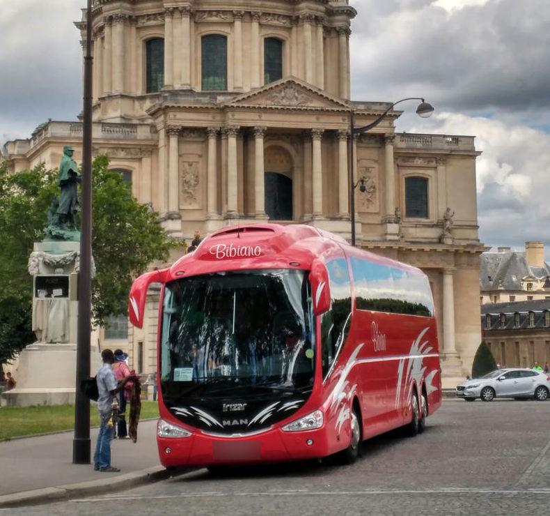 Alquiler de autobuses con conductor para circuitos europeos