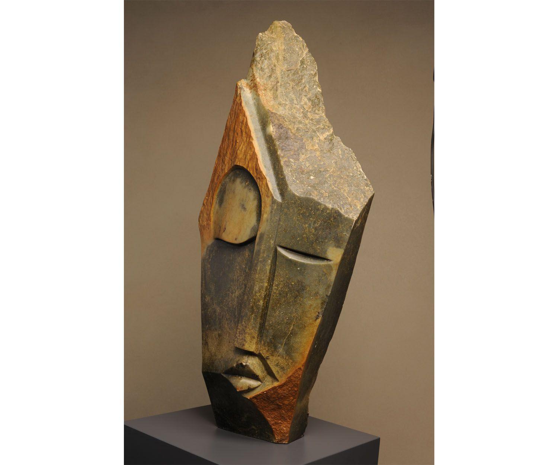 Medium, 92 x 41 cm. Lameck Bonjisi.