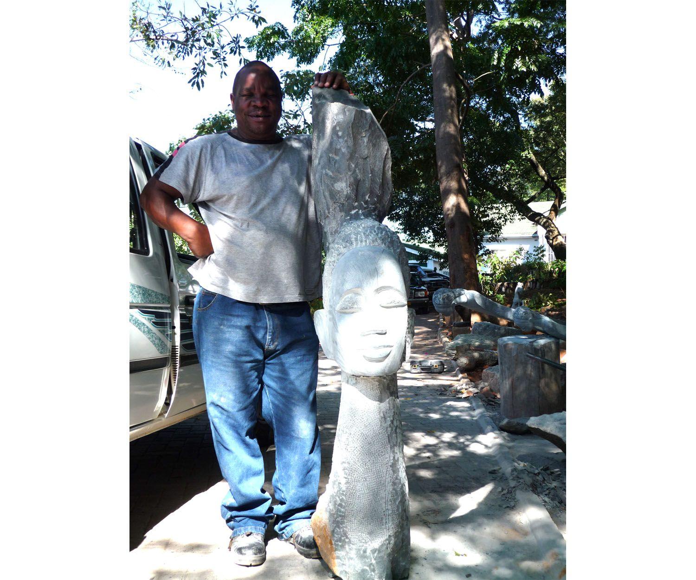 Arte africano en Madrid: Joe Mutasa