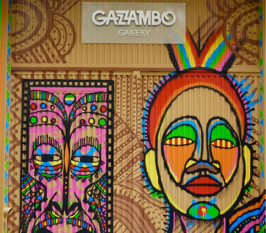 Galería de arte en Madrid