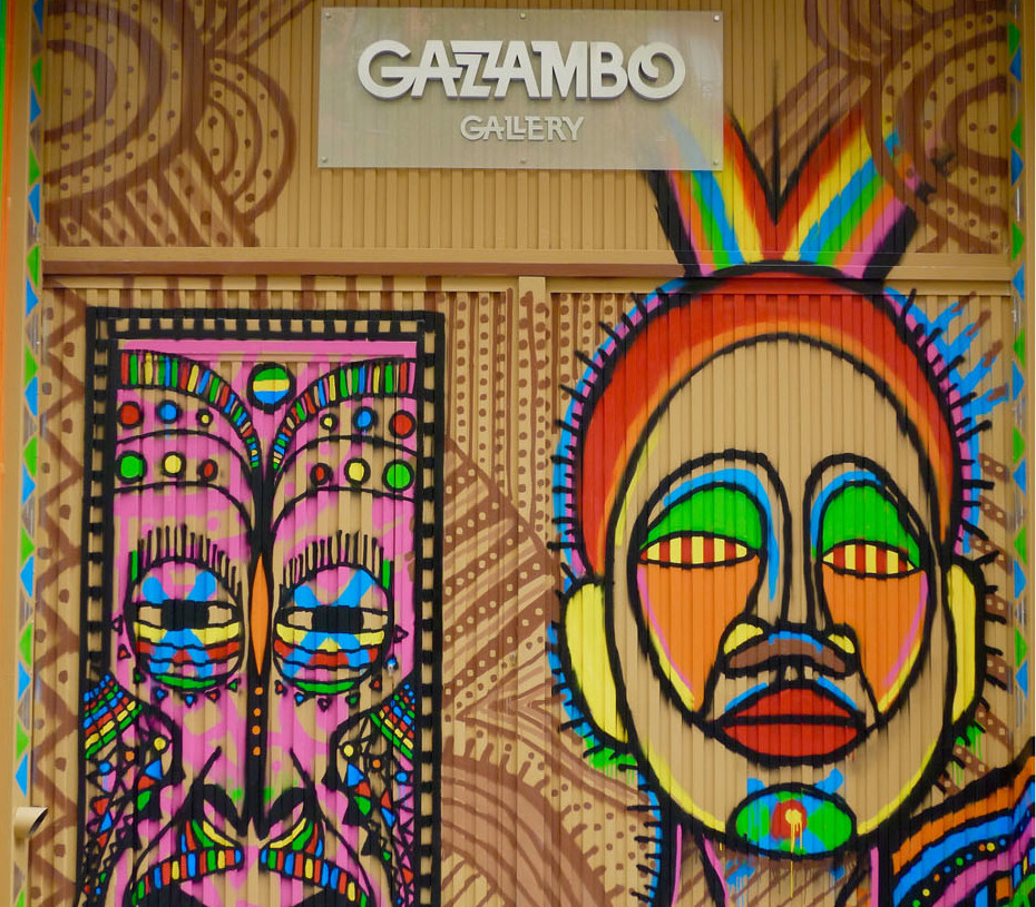Art gallery in Madrid